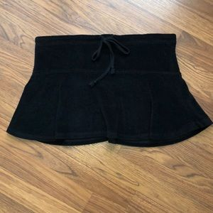 dELiA*s Black Terry Cloth XS Skirt
